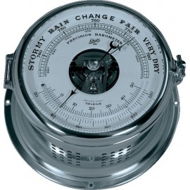 Royal 180 Barometer,hPa/mm-thermometer C/F,chroom