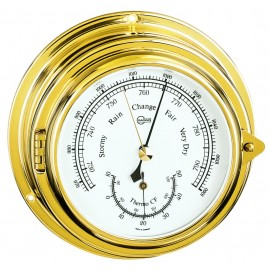Porthole Ship's Baro-/Thermometer
