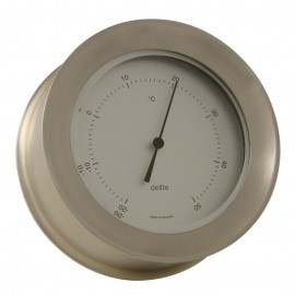 "Barometer - Zealand - ""stainless brass"""