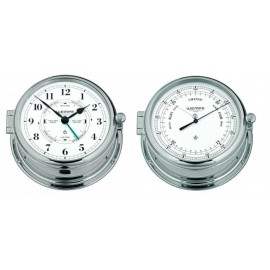 admiral-ii-brass-chrome-plated-tide-getijden-klok-en-barometer-set