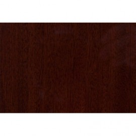 Wooden plate Mahogany polished 200 x 210 mm