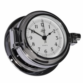 Schatz Fyrkat 140 Quartzclock, ,arabic, ,chrome
