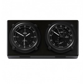 Weather station NAVIGATOR II aluminium matt black anodised