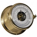 Schatz Royal 180 Barometer,hPa/mm-thermometer BARO-/THERMOMETER - POL. AND BRUSHED BRASS 481 BTt