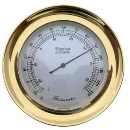 Atlantis Thermometer Chrome Plated