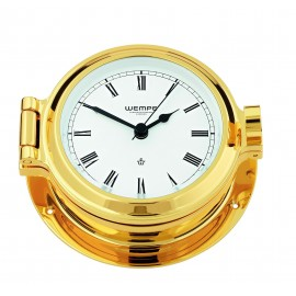Nautik brass Ship's clock