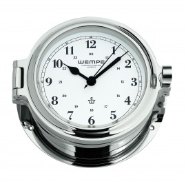 Cup brass  chrome plated Ship's clock