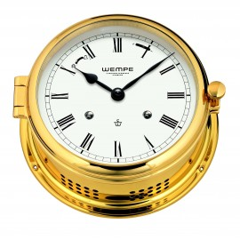 ADMIRAL II brass Striking clock (Ship bells)