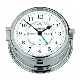 ADMIRAL II brass  chrome plated Tide clock