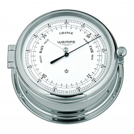 ADMIRAL II brass  chrome plated DD-Barometer